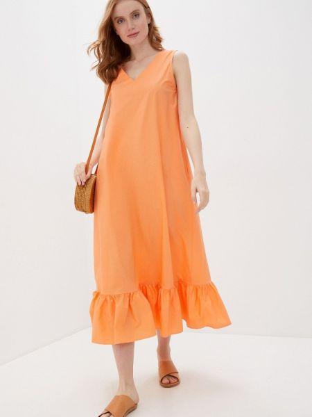 Платье - оранжевое Baon