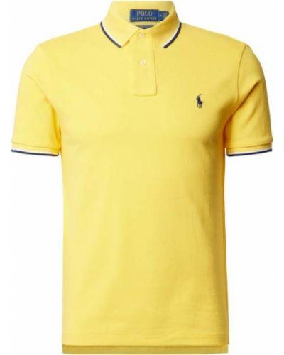 T-shirt bawełniany w paski z paskiem Polo Ralph Lauren