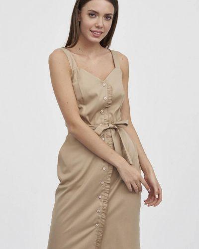 Платье - бежевое Evalution