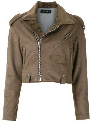 Длинная куртка - коричневая Gloria Coelho