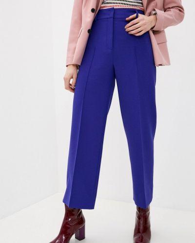Фиолетовые повседневные брюки Akris Punto
