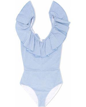 Garnitur niebieski kostium Monnalisa