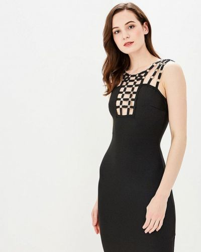 Вечернее платье черное Paccio