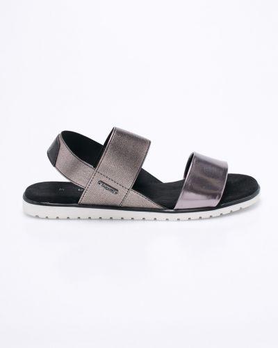 Серые сандалии текстильные Bugatti