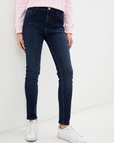 Зауженные джинсы - синие Galvanni