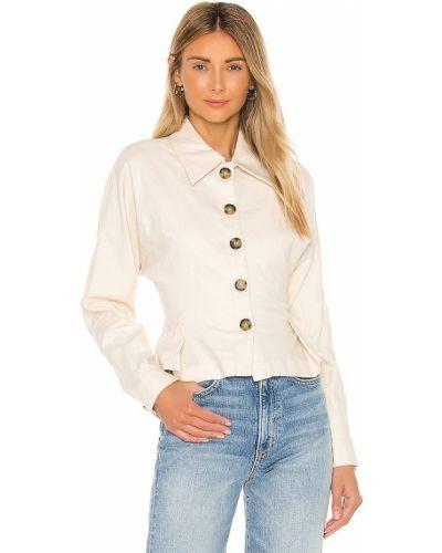Кашемировая куртка - белая Lpa