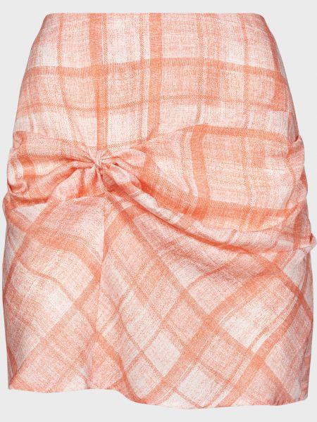 Оранжевая юбка на молнии The Fifth Label
