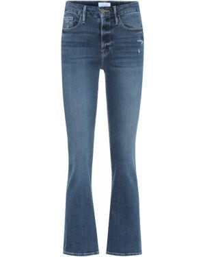 Укороченные джинсы mom стрейч Frame