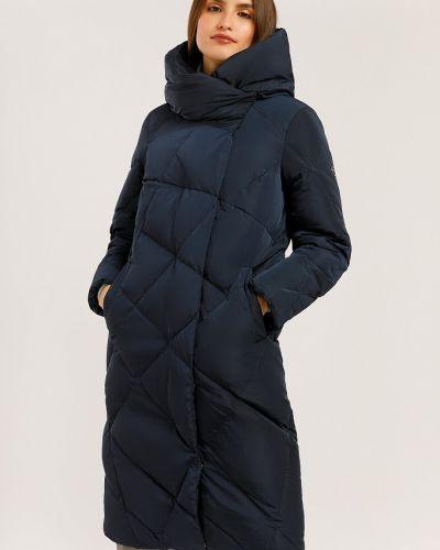 Пуховик-пальто - синий Finn Flare