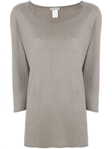 Хлопковый свитер - коричневый Le Tricot Perugia