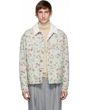 Джинсовая куртка длинная легкая Gucci