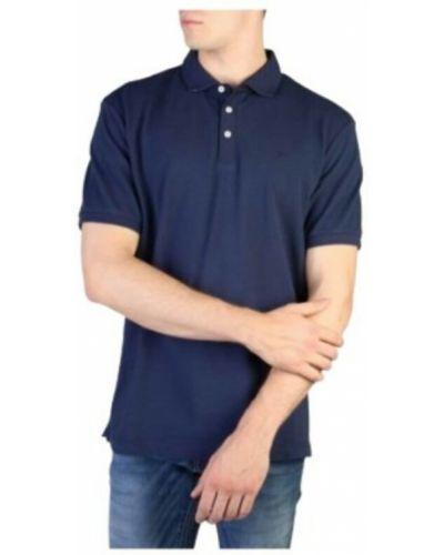 Niebieska t-shirt Hackett