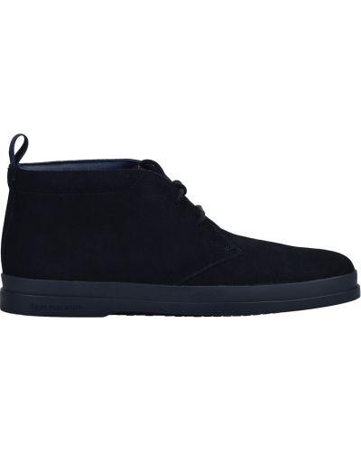 Ботинки осенние замшевые черные Paul Smith