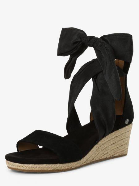 Sandały czarne piasek Ugg