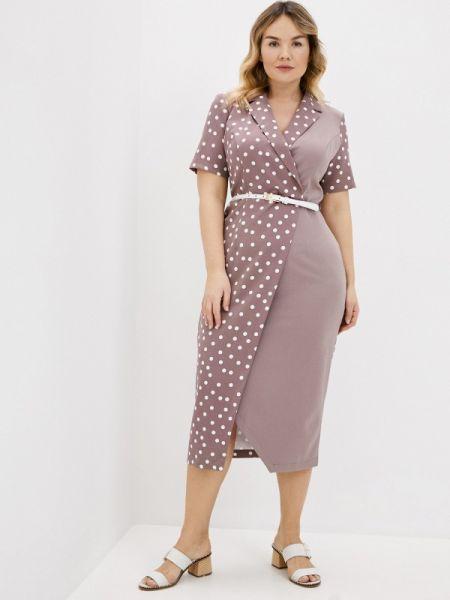 Розовое повседневное платье Mankato