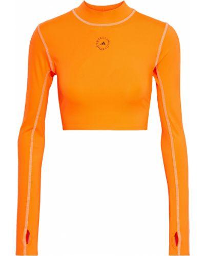 Укороченный топ - оранжевый Adidas By Stella Mccartney