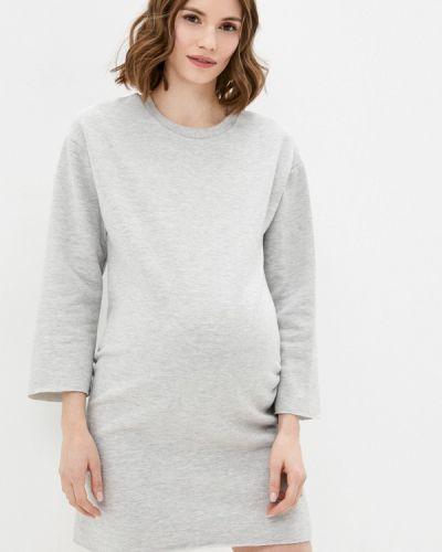 Серое платье для беременных Dorothy Perkins Maternity