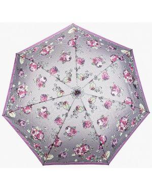 Складной зонт - фиолетовый Fabretti