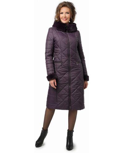 С рукавами длинное пальто из искусственного меха с карманами Dizzyway