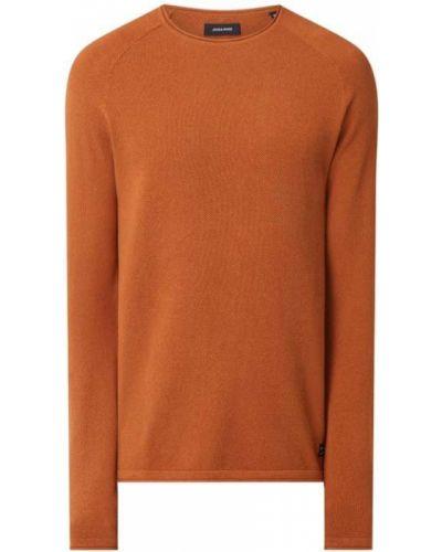 Sweter bawełniany - pomarańczowy Jack & Jones