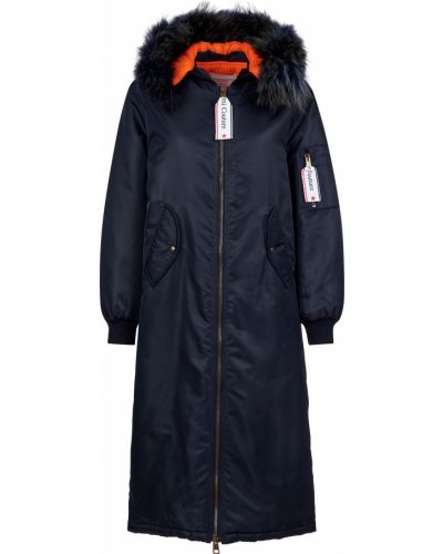 Куртка из полиэстера - синяя Forte Couture