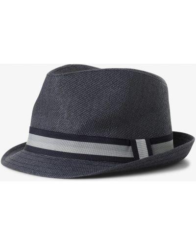 Ciepły niebieski kapelusz Finshley & Harding London