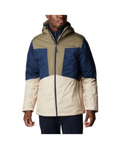 Бежевая куртка из полиэстера Columbia