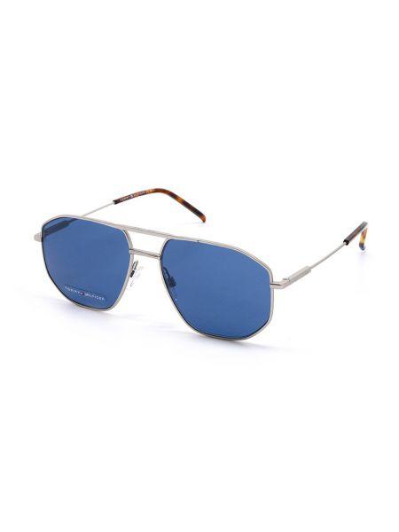 Оправа для очков металлические - синие Tommy Hilfiger