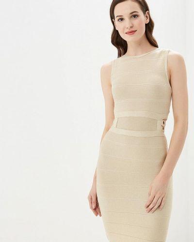 Платье осеннее бежевое Soky & Soka