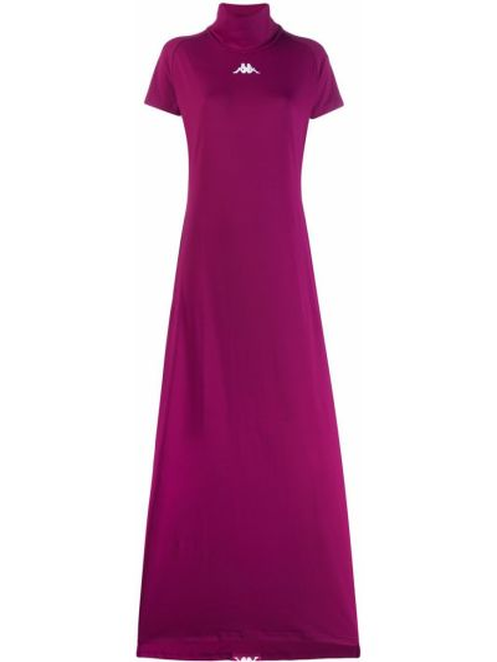 Платье макси длинное - розовое Kappa
