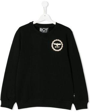 Черная толстовка Boy London Kids
