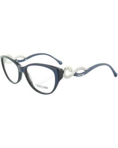 Niebieskie okulary Roberto Cavalli
