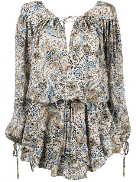 Шелковое облегающее платье с V-образным вырезом на молнии узкого кроя Redemption