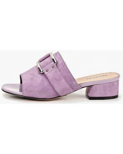 Сабо кожаные фиолетовый Vitacci