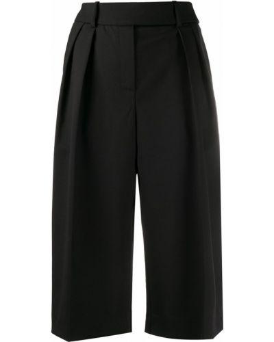 Свободные черные шорты свободного кроя Alexandre Vauthier
