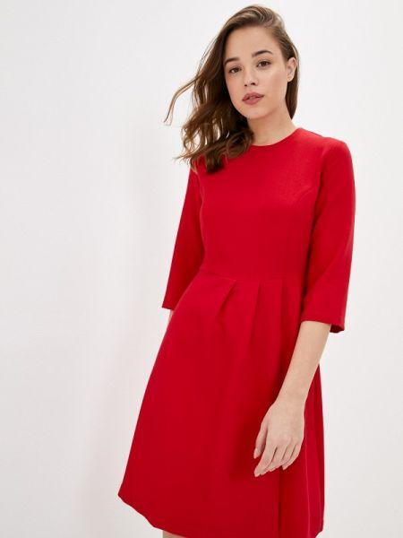 Платье прямое красный Incity