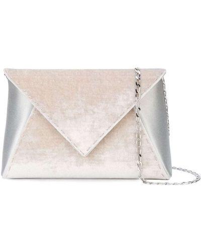 Шелковая розовая сумка на плечо с карманами Tyler Ellis