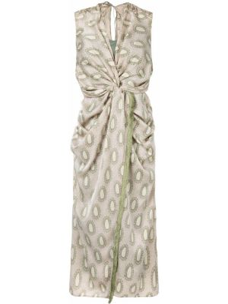 Платье миди на молнии Muller Of Yoshiokubo