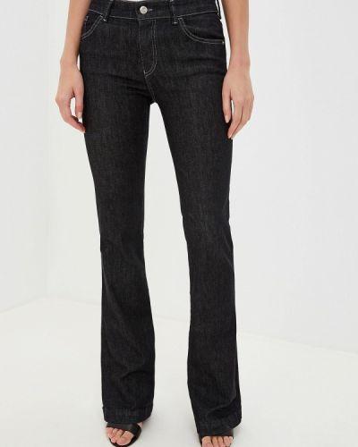 Широкие джинсы расклешенные черные Emporio Armani