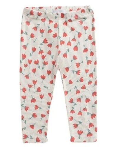 Beżowe spodnie w kwiaty Bobo Choses