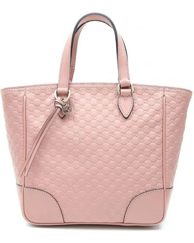 Różowa torebka skórzana Gucci