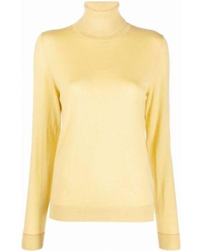 Желтый свитер из вискозы Ps Paul Smith