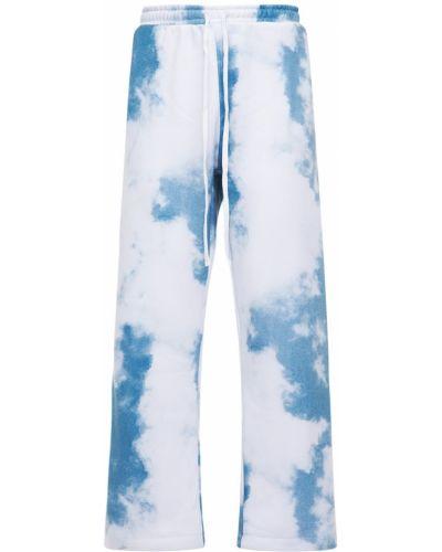 Niebieskie joggery z printem Jaded London