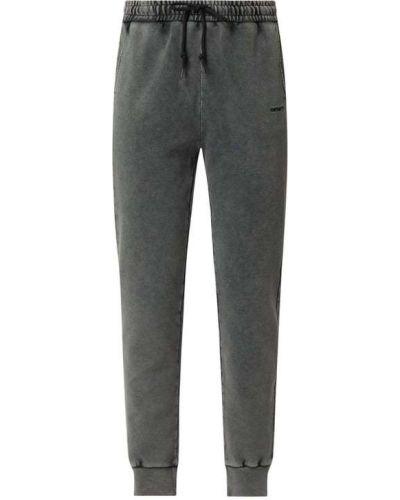 Czarny spodni spodnie do spodni na gumce Carhartt Work In Progress