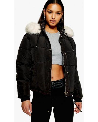 Утепленная куртка осенняя демисезонная Topshop