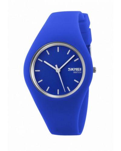 Голубые часы Skmei