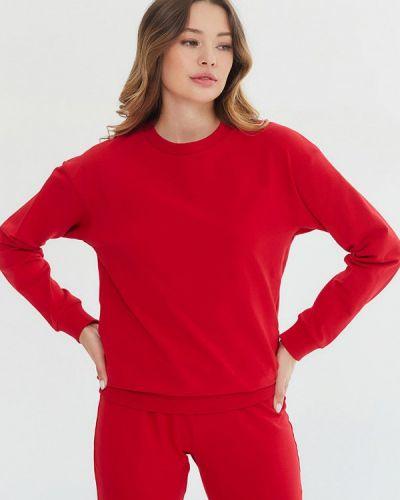 Красный свитшот Madlen