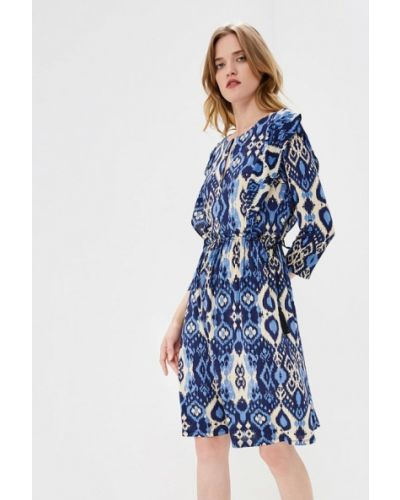 Платье осеннее синее Max&co