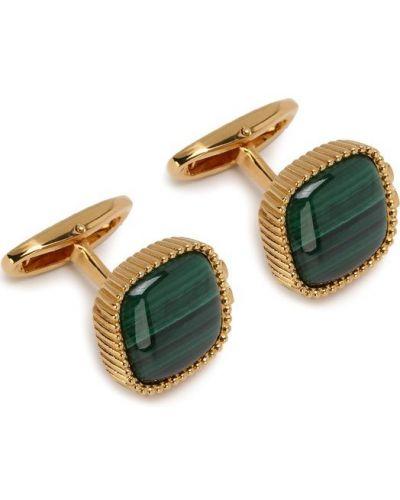 Запонки золотого цвета Dolce & Gabbana