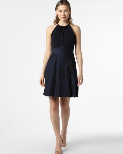 Niebieska sukienka wieczorowa V.m.